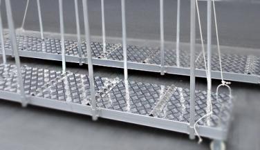 船舶跳板铝梯踏板用铝合金花纹板